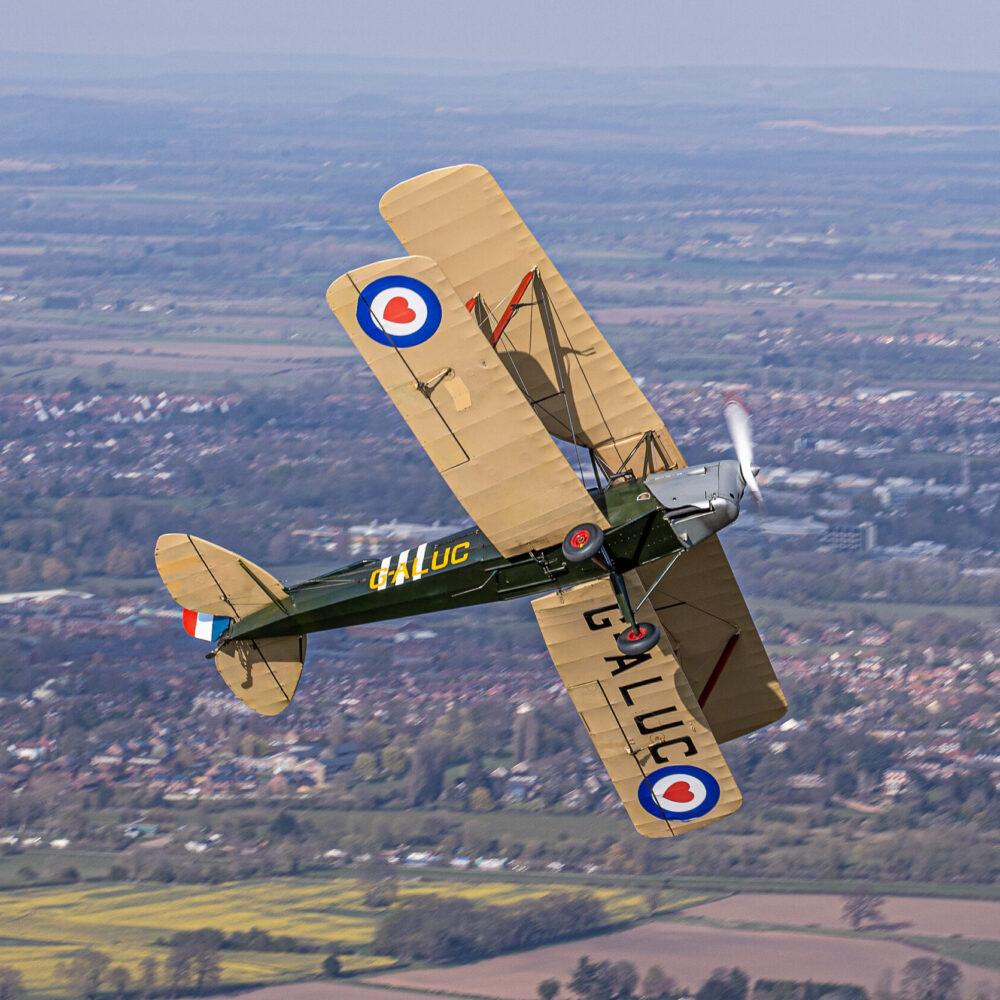 RAF Benevolent Tigermoth Squadron
