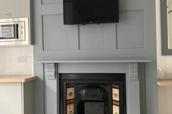 Hazeldene fireplace