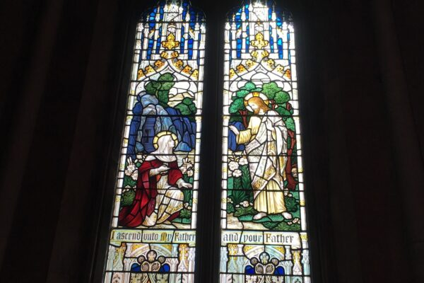 Stained Glass Windows at St Helens Church Escrick