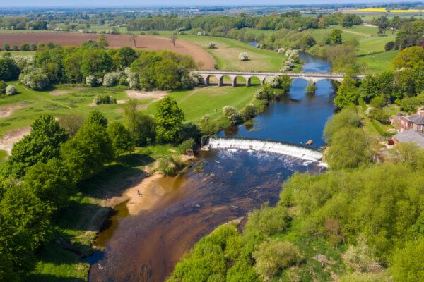 River and bridges