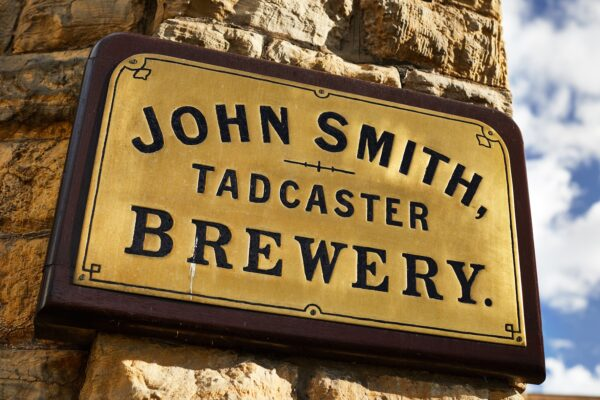 John Smith Brewery sign