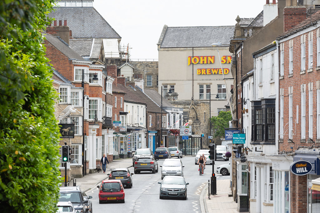 View of Tadcaster High Street