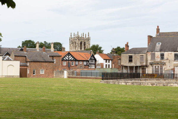 panoramic view of Tadcaster
