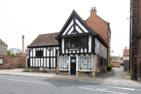 The Ark in Tadcaster, a black and white building