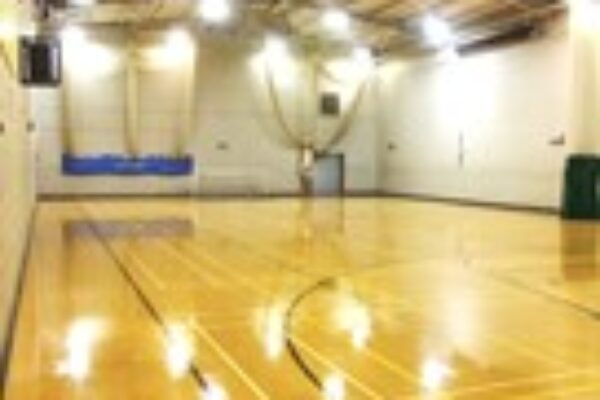 A picture of the Sports Hall