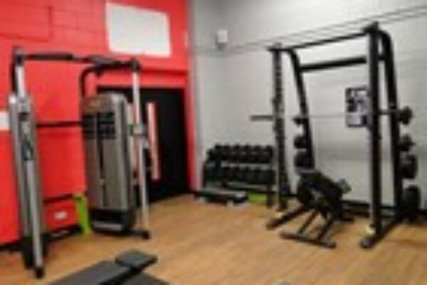 Gym equipment at Tadcaster Leisure Centre