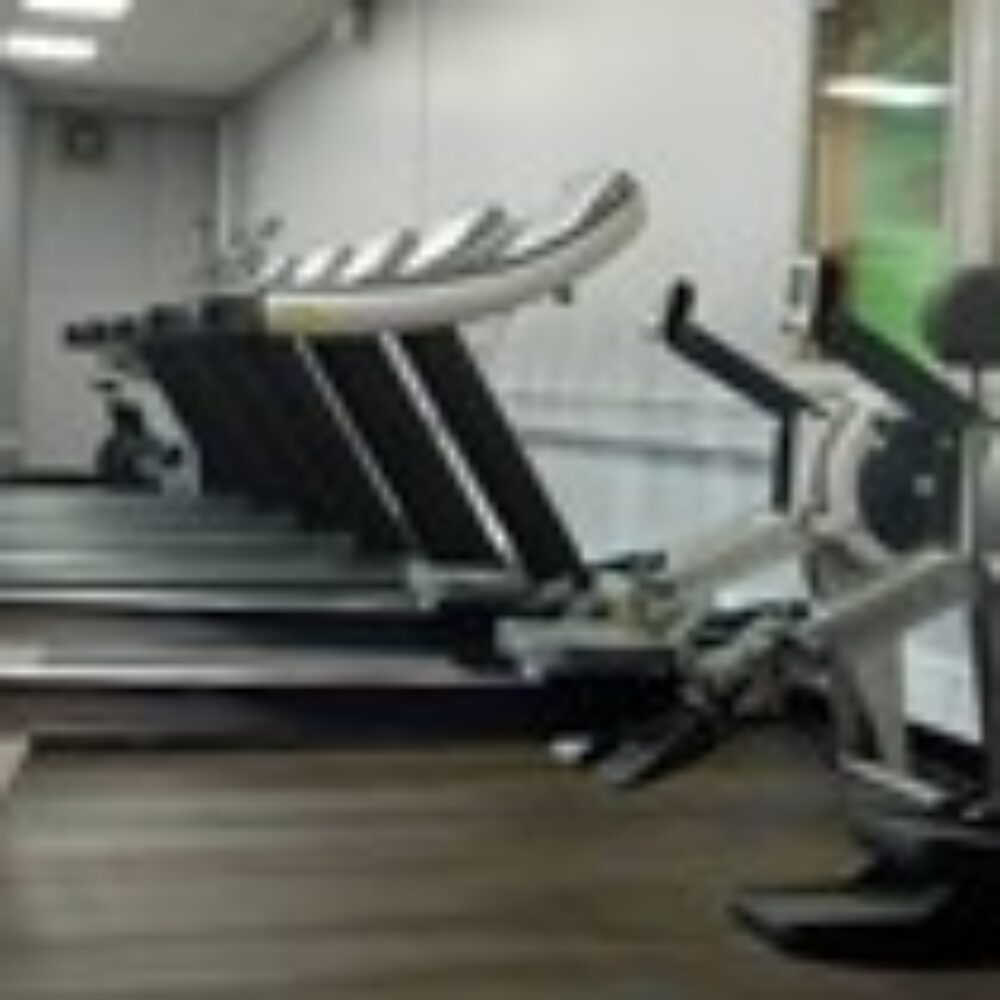 An image of running machines at Tadcaster Leisure Centre