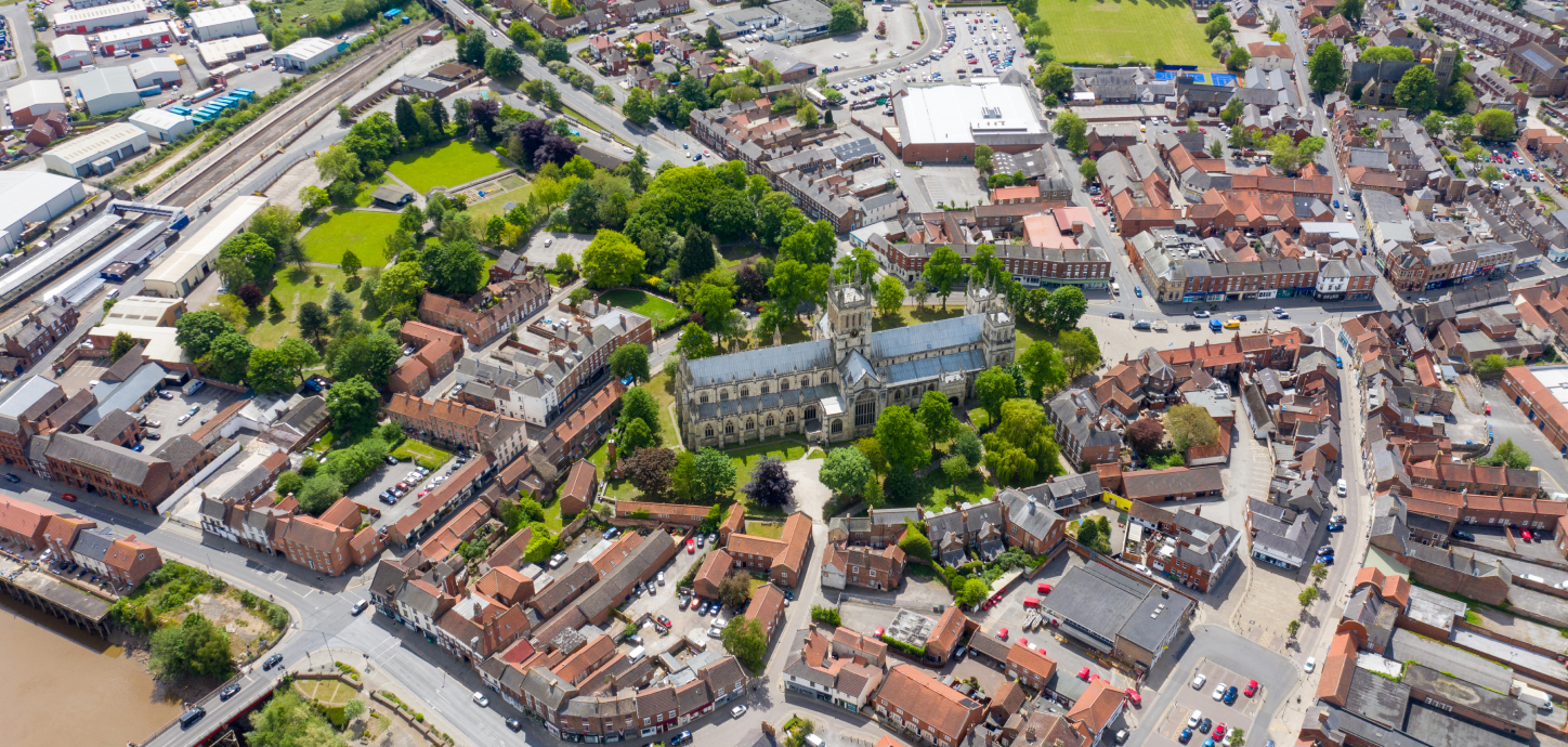 Minster from above