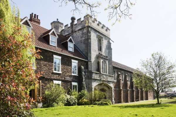 The exterior front of Cawood Castle