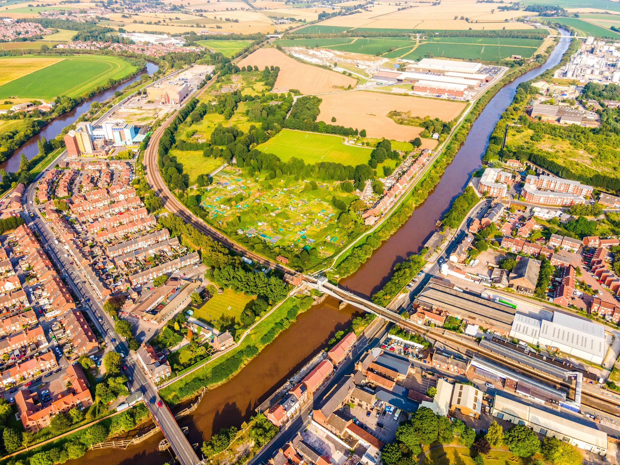 Selby drone shot