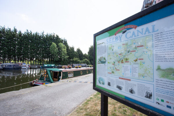 Selby Canal Map