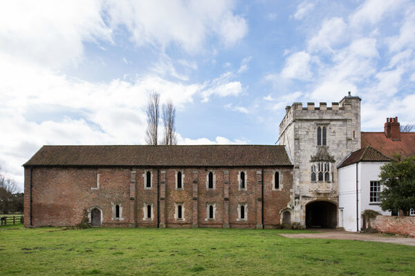 The front of Cawood Castle