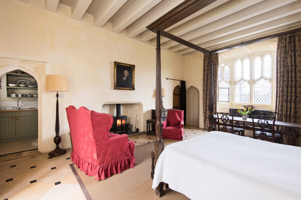 Sitting Room and Kitchen at Cawood Castle