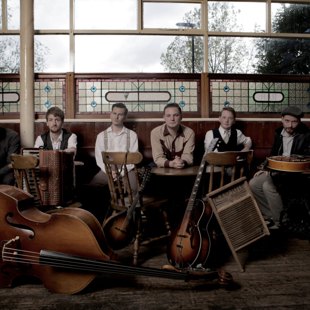 A picture of Rob Heron and the Tea Pad Orchestra