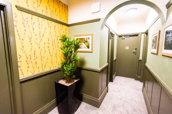 Internal hallway at Sallow Tree House