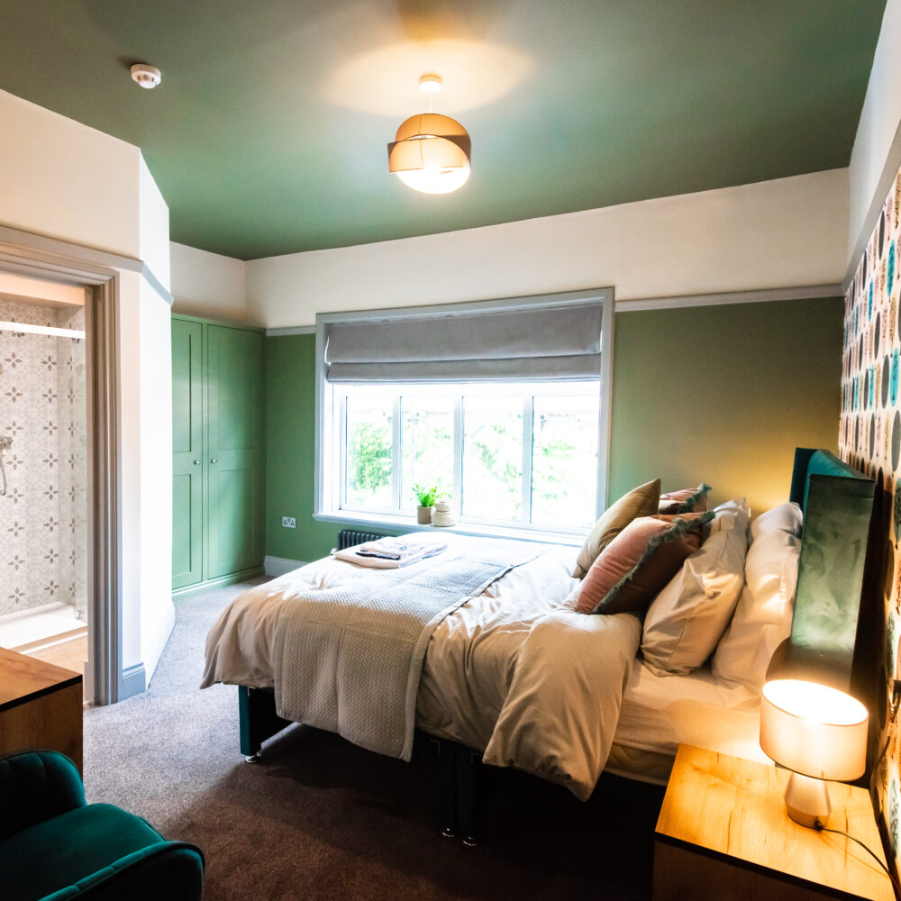 Guest room at Sallow Tree House