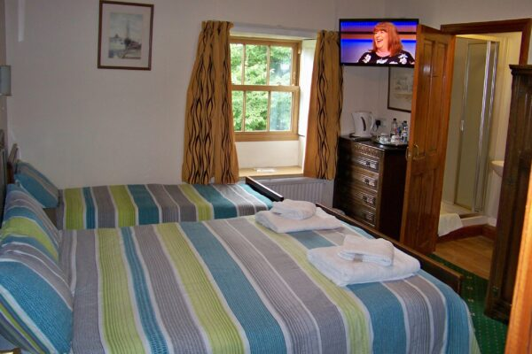 Family en-suite room at Presbytery Guest House