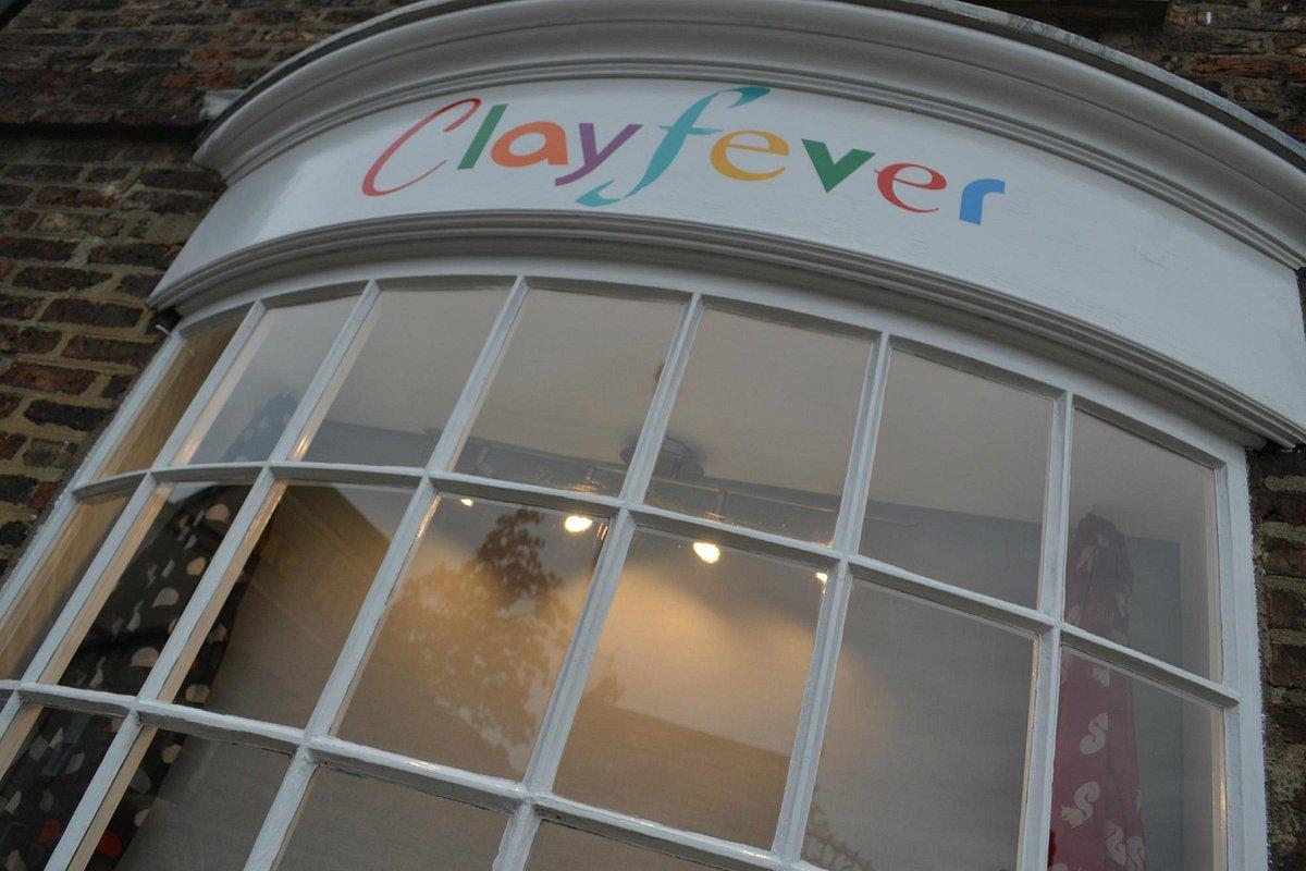 Clayfever Ceramic Studio shop front