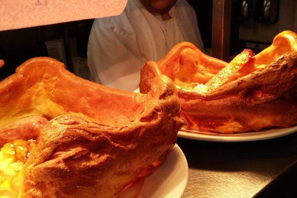Yorkshire Puddings at The Crooked Billet Saxton